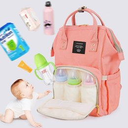 $enCountryForm.capitalKeyWord Canada - Baby Diaper Maternity Bag For Wheelchairs Stroller Baby Care Nappy Bolso Maternal Mother Bag Travel Backpack For Mom