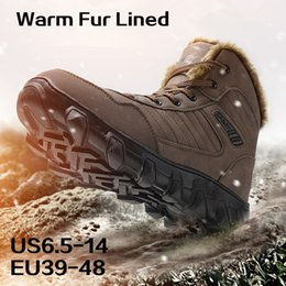 Mens Waterproof Hiking Boots Australia - Hunting Boot for Men Waterproof  Backpacking Shoes Mens Snow Boots aa3496d7f