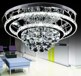 Vente en gros NOUVEAU Moderne style généreux et luxueux, acier inoxydable brillant, lustre plafonnier, avec télécommande intelligente