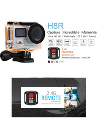 Remote video cameRas online shopping - Original EKEN H8R Ultra HD K fps Video Action Camera with Remote Control inch m waterporoof sport Camera by dhl