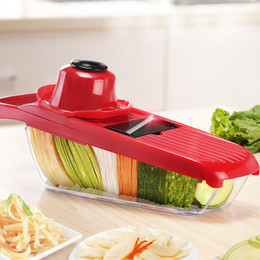 Discount kitchen vegetable dicer - Slicer Vegetable Cutter Quickdone Fruit Slicer with Stainless Steel Blade Manual Potato Peeler Carrot Grater Dicer Kitch