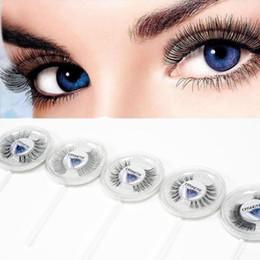 b96b99c2a1f 25 Styles Lollipop False Eyelashes Natural Cross Long Eye Lashes Fake Faux Eyelashes  Extension High Quality Low Price