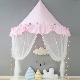 Tent for Kids Canopy Bed Curtains Cotton Play Tent House Kids Room Decoration Childrenu0027s Day Gifts Baby Props for Photography kids room tents for sale & Discount Kids Room Tents | 2018 Kids Room Tents on Sale at DHgate.com