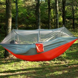 garden hanging nylon bed and mosquito   outdoor travel jungle camping tent hammock camping swing hanging bed 4 color 260 140cm hammock   swing australia   new featured hammock   swing at      rh   au dhgate