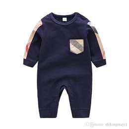 Black Long Sleeve Bodysuit Baby UK - High Quality Baby Clothes Spring  Summer Long Sleeved Cotton d807ae237