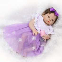 $enCountryForm.capitalKeyWord UK - Full Silicone Body Reborn Baby Like Real Doll Toys Newborn Princess Girl Babies Dolls Child Birthday Gift Present Bathe Toy