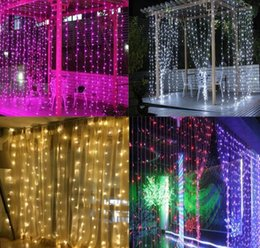 $enCountryForm.capitalKeyWord Australia - 3x3m LED Fairy Light Battery Powered USB Curtain Light Waterproof Wedding Party Garland Outdoor LED Decorative Christmas