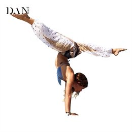 $enCountryForm.capitalKeyWord UK - 2017 Hot Sale Women Harem Pants Yoga Aladdin Dance Trousers Colorful Elastic Waist Yoga Pants High Waist Bloomers C137
