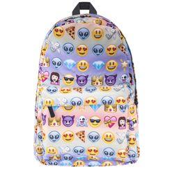 66499f4097 2017 fashion Printing Emoji Backpack Fashion Youth Schoolbags for Teenager  Girls Boys unicorn bag printing backpack school bags