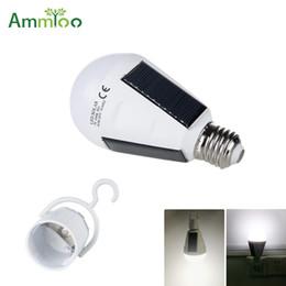 $enCountryForm.capitalKeyWord Australia - 7W 12W Portable Lantern Solar LED Bulb Lamp E27 AC 110V 220V Soalr Rechargeable Outdoor Night Emergency Led Camping Tent Light