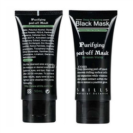 $enCountryForm.capitalKeyWord Australia - Best Shills Black Purifying peel-off Mask deep cleansing Natural science all kin types blackheads remover FAST shipping 50 ML
