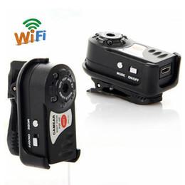 Mini dv brand caMera online shopping - Wireless IP Cam Mini Q7 Camera P Wifi DV DVR Brand New Mini Video Camcorder Recorder Infrared Night Vision Small Camera
