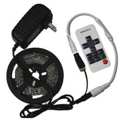 $enCountryForm.capitalKeyWord UK - LED Strip Light 12V 5M 300 Not waterproof SMD 5630 Diode Tape Flexible Lights+12V 2A Power Adapter Supply + RF Remote Controller