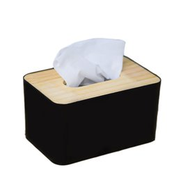 $enCountryForm.capitalKeyWord NZ - New Wooden Tissue Box Container European Style Tissue Case for Home Office Decoration Paper Towel Box Hotel Napkin Wood Holder
