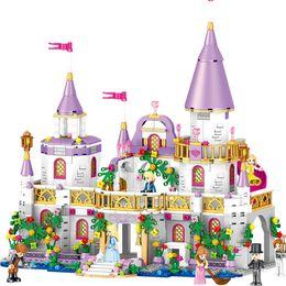 $enCountryForm.capitalKeyWord Canada - 731pcs Romantic Castle Princess Friend Girl Building Blocks Bricks For Children Sets Toys Compatible With LeGOINGlys Friends gIFT