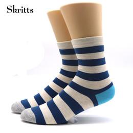 e7ddefb6cfb7 1 Pair Men Striped Sock Winter Autumn Warm Socks for Mens Fashion Business Dress  Socks Multicolor Short Cotton Male Ankle Sock