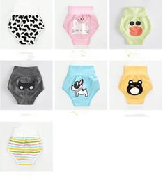 Natural Cotton Underwear Australia - Children's waist abdomen protecting children underwear underwear pants wholesale infant cotton baby nursing belly baby underwear pants