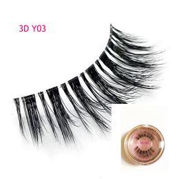 $enCountryForm.capitalKeyWord Australia - New Silk Eyelashes 3D Silk Protein 3D Y03 Lashes Luxury Hand Made faux mink False Eyelashes Cruelty Free Lashes natural eyelash3d lashes