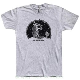 $enCountryForm.capitalKeyWord NZ - Armadillo Armachillo T Shirts Ufo Alien Shirt Funny Animals Jackalope Desert Cactus Scene Santa Fe New Mexico Game Shirt