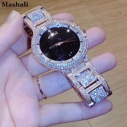 $enCountryForm.capitalKeyWord Australia - New style Mashali Watch Fashion Women Original Brand Suisse Luxury Bracelet Watches Rose Glod Clock Ladies Quartz relojes mujer Y18110310