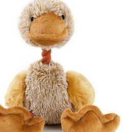 Chinese  25cm Top Plush Toys Cartoon doll toy Armadillo bird duckling animal doll cute children Christmas gift Will make a sound Wholesale manufacturers