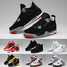 $enCountryForm.capitalKeyWord Canada - High Quality 4s Basketball Shoes 4 White Cement Bull Red Black White Chicago Men Women Sneakers Sports Shoes