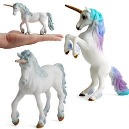 $enCountryForm.capitalKeyWord UK - kids Unicorn model toy classic myths and legends Tianma Unicorn girl toy animal model variety of optional 10 styles