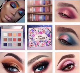 eye shadow 12 Australia - Hot sell Make Up SOUL Blooming 12 color Eyeshadow Palette Pigmented Shimmer Matte Eye Shadow Custom Makeup cosmetic palette