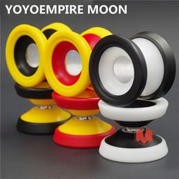 Metal Yoyo For Kids Australia - New Arrive YOYO EMPIRE MOON yoyo CNC Yoyo for Professional yo-yo player Metal and POM Material Classic Toys Gift For Kids