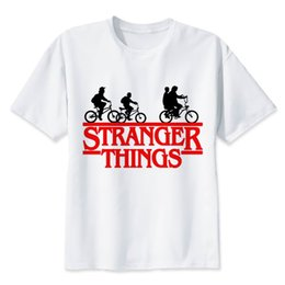 Coolest high tops online shopping - Stranger Things T Shirt High Quality Fashion Funny Men s Novelty T Shirt Summer Hipster Cool Male Tops Tees