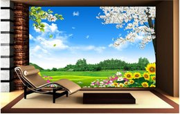 $enCountryForm.capitalKeyWord NZ - 3d room wallpaper custom photo non-woven Flowers and trees, natural scenery, mural 3d landscape wall tapestry murals wallpaper for walls 3 d