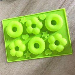 Discount different shapes cake - doughnut cake molds with different shapes chocolate Baking Cake silicone mold