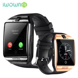 $enCountryForm.capitalKeyWord Canada - wholesale Q18 Smart Watch Wrist Smartwatch Support SIM TF Card Smart-Watch Smartwatch Battery Bluetooth Clock for Android Phone