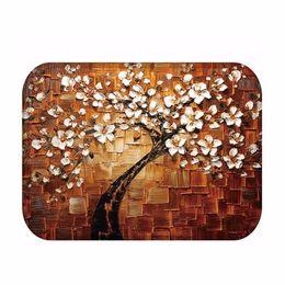 $enCountryForm.capitalKeyWord UK - Anti Slip Floor Door Carpet Mat Pad Soft Coral Fleece Tree Pattern for Room Home Decoration 40*60cm Drop Shipping