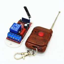 $enCountryForm.capitalKeyWord Australia - 1CH 433Mhz 315mhz Wireless Remote Switch Receiver Module AC 110V 220V 10A 1-Key Remotes Control For Light Garage Door Gate