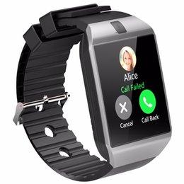 $enCountryForm.capitalKeyWord Australia - Bluetooth Smart Watch Smartwatch DZ09 Android Phone Call Relogio 2G GSM SIM TF Card Camera for iPhone Samsung HUAWEI Top