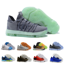 5d63bfa002fa 2018 ZOOM KD 10s EP Top Quality Kevin Durant X mens Basketball Shoes New  Hot Athletics Sneakers Drop Shipping size 36-46