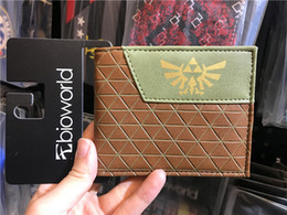Animated Cards Australia - The Legend of Zelda wallet short animated cartoon Young men and women students personality fashion purse
