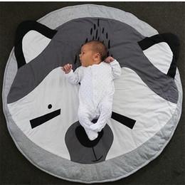 $enCountryForm.capitalKeyWord NZ - Blanket Round Children Kids Gym Game Play Mat Baby Crawling Rug Carpet Cotton Blanket