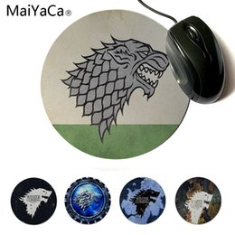 Maiyaca Quality Cartoon Face Expression Round Mouse Pad Pc Computer Mat Size For 20x20cm 22x22cm Professional Gaming Mouse Pad With A Long Standing Reputation Mouse Pads