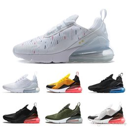 9813bb0d6 Best Quality 27c World Cup Champion France 270 Sneakers Two 2 Star Limited  Edition Triple Black White Women Mens Trainer Running Shoes 36-45