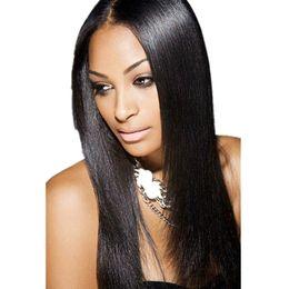 $enCountryForm.capitalKeyWord UK - Peruvian Virgin Hair Full Head Natural Black Bohemian Silky Straight Clip in Virgin Human Hair Extension