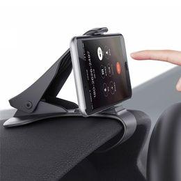 Опт Подставка под приборную панель автомобиля Зажим для смартфона Аксессуары для мобильных телефонов Подставка для мобильного телефона для iPhone 8 7 Plus Samsung S8 Note8