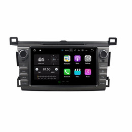 "mobile charger head Australia - Android 7.1 Quad Core 8"" Car DVD Car radio dvd GPS Multimedia Head Unit for Toyota RAV4 2013 2014 2015 With Bluetooth WIFI Mirror-link"