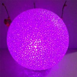 $enCountryForm.capitalKeyWord Australia - Handmade Christmas Decorations For Home Colorful LED Color Changing Crystal Ball String Strip Light Lamp Christmas Decor Y18102909