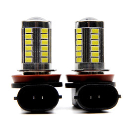 Car Led Side UK - 2pcs H11 LED Light 5630 3030 SMD Fog Light Driving DRL Car Light for Chevrolet Cruze Camaro Sonic Spark Equinox 2013-2015