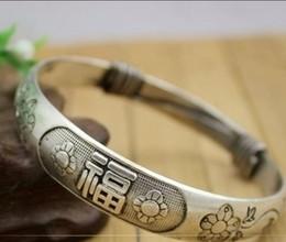 $enCountryForm.capitalKeyWord Canada - Chinese Tibet silver carved dragon Head Men bracelet