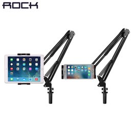 $enCountryForm.capitalKeyWord UK - wholesale Universal Mechanical Stand Holder for iPad  Tablet 360 Rotating Foldable Adjustable Tablet Mobile Phone Holder for iPhone