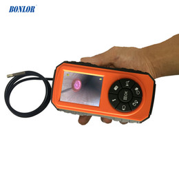 Night Vision Tube NZ - Super Mini Powerful Borescope Inspection Camera System with 1M Snake Tube Night Vision & 3inch Color LCD Monitor IP67 Waterproof