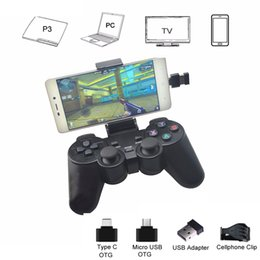 $enCountryForm.capitalKeyWord NZ - Android Wireless Gamepad For Android Phone PC PS3 TV Box Joystick 2.4G USB Joypad Game Controller For Xiaomi Smart Phone